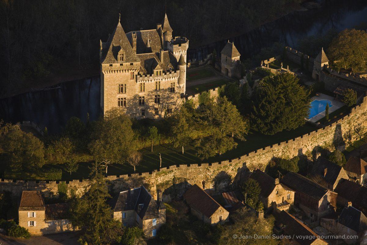 Château de Montfort, Vallée de la Dordogne / Château de Montfort, Dordogne valley