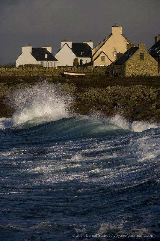 Maison , Côte rocheuse , Finistère