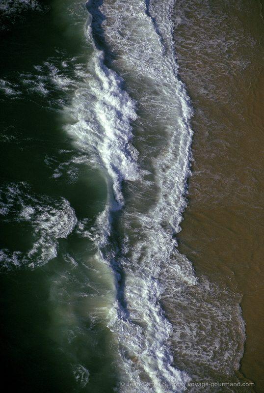 Vague , plage de la Cote Landaise / Wave, Landes coast beach