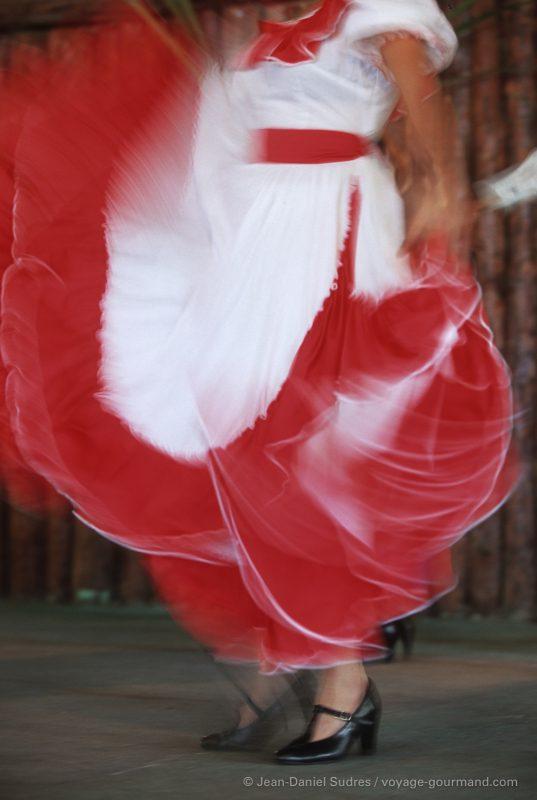 Danseuse de salsa à La Havane