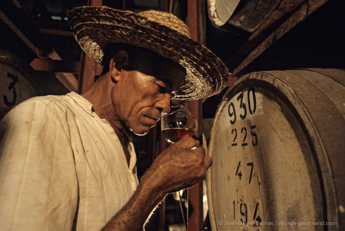 Dégustation de Rhum au chai, Martinique