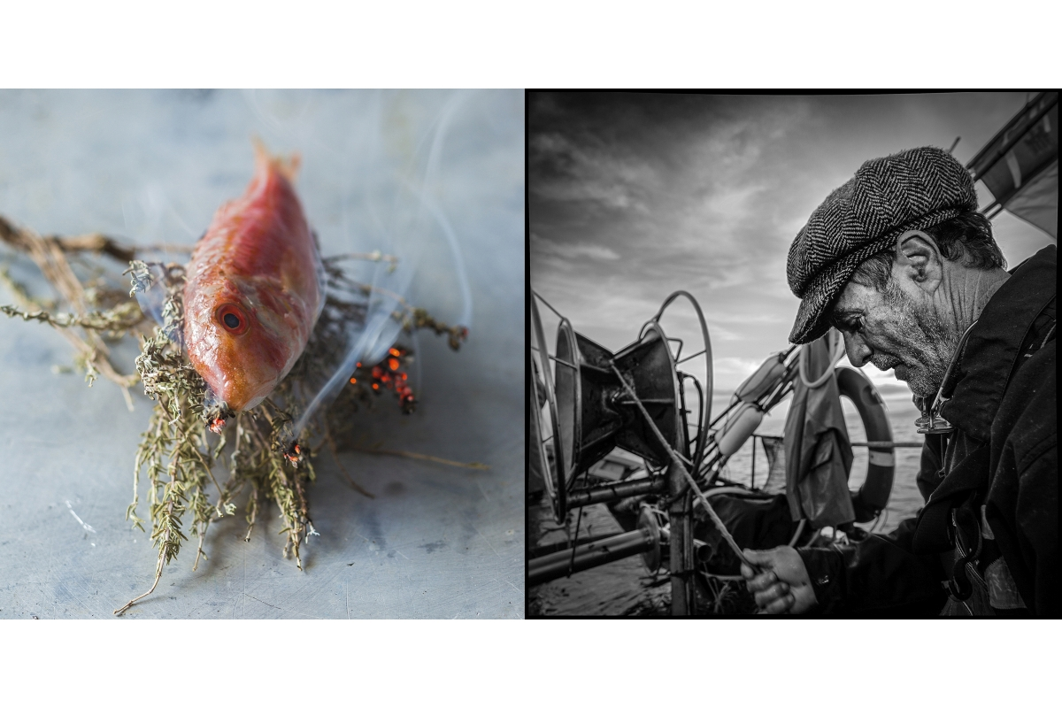Saveurs provençales, pêche en pointu et rouget grillé